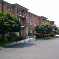 2 bedroom condo in Kitchener with exclusive garage parking!