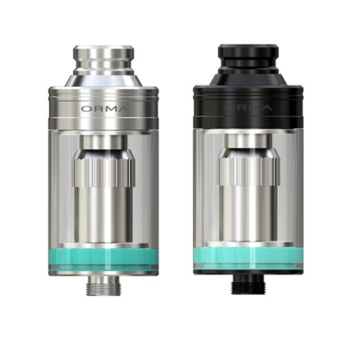 100% Authentic WISMEC ORMA TANK 3.5ml Black/ Silver Special Price USA Seller
