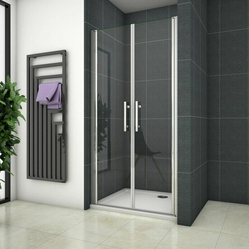 Duschtür Pendeltür Nischentür Duschabtrennung Duschkabine Schwingtür ESG Dusche