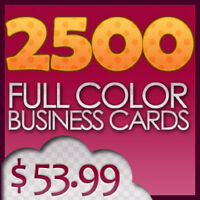 1000 Business card 16pt cardstock only $50 with design