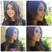Hair and makeup by RFM starting @ $75