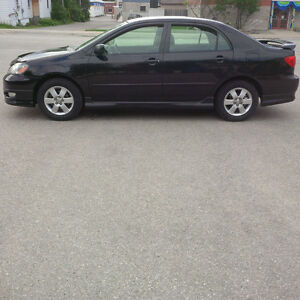 2005 Toyota corolla, great shape, certified, two sets tires,