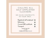 Contract cleaners