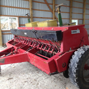Case IH 18 run seed drill (single disk)