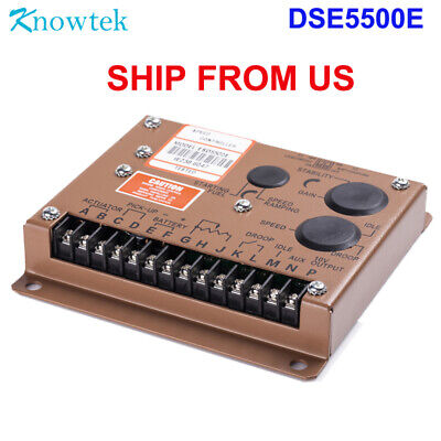 Esd5500e Engine Speed Control Governor Unit Controller For Diesel Generator