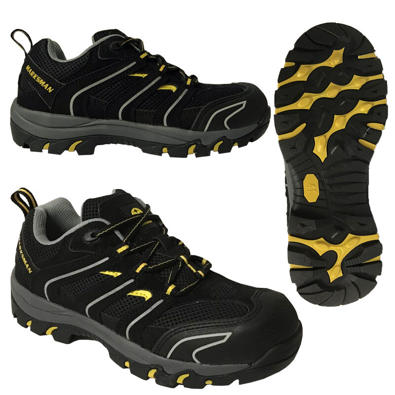 ** SAFETY BOOTS STEEL TOE CAP TRAINERS LIGHTWEIGHT BOOT SHOES WORK MENS QUALITY