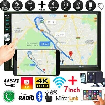 Touch Screen HD 1080P 2DIN Car Radio MP5/MP3 Player Android/IOS Mirror Link Map