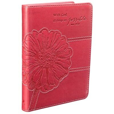 Christian Journal For Women Girls Teen Pink Diary Writing Friendship Devotional  - Journals For Girls