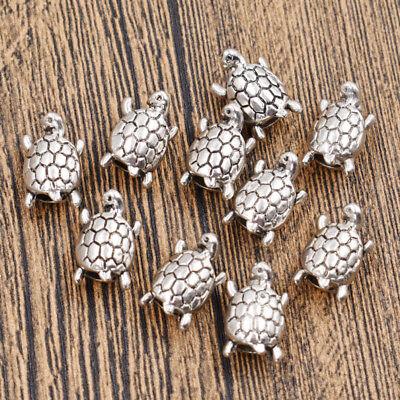 Punk Rock Dreadlock Beads Alloy Tortoise Hair Jewelry Decor DIY Accessories 10x - Punk Rock Decor