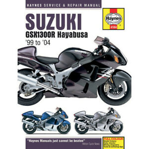 Haynes Repair Manual - 4184 | Suzuki GSX1300R Hayabusa 1999-2013