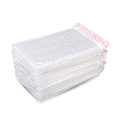 Lot 10x White Bubble Self Seal Mailers Padded Envelopes Bags Shipping Bag