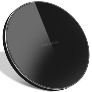 Ultra-Thin Qi Wireless Charging Pad Universal Fast Charge