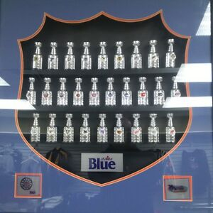 Labatts Stanley Cups complete set - mounted