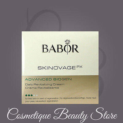 Babor Skinovage Advanced Biogen Daily Cream 50Ml 1 7Oz  Revitalizing Fresh New
