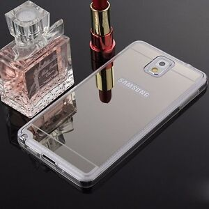 Luxury Mirror TPU Silicone Gel Case Cover For Samsung ...