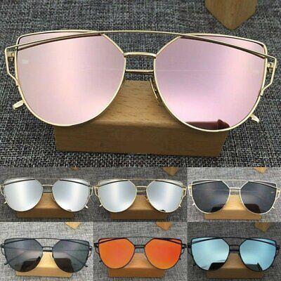 2017 HOT Unisex Gents Women Mirror Vintage Style Retro Oversized Sunglasses 8G