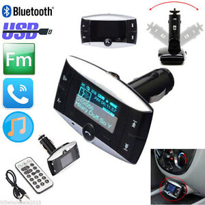 MP3 FM Transmitter  Bluetooth and Hands free