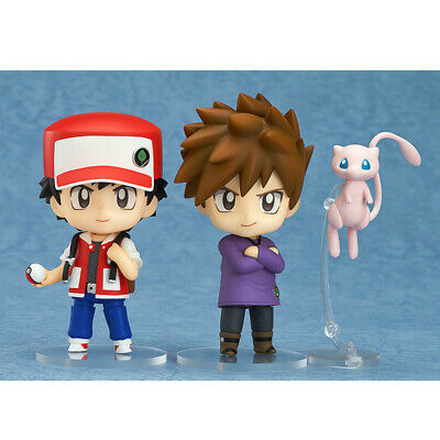 Pokemon Gary Oak Ash Ketchum Mew Anime Action Figure Model Toy Gift for Children