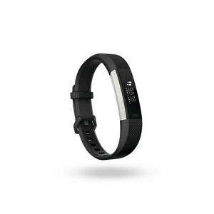 Fitbit Alta HR Fitness Tracker -large - Black, English + French