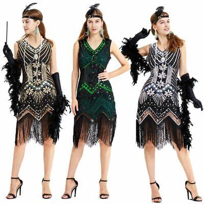 20er Jahre Charleston Kostüm Flapper Kleid Swing Gatsby Show 1920er Mafia - Mafia Kostüm 1920