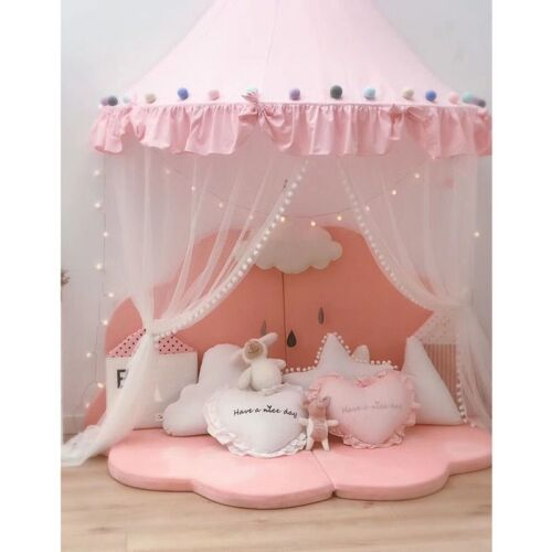 Princess Canopy Baby Bed Curtain Tents Children Room Decoration Teepee Tent 2021