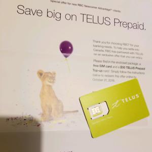 Telus Prepaid Calling Card