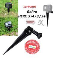 Supporto Stand Treppiedi Da Spiaggia Nero Per Gopro Hero 5 4 3 Sj4000 - gopro - ebay.it