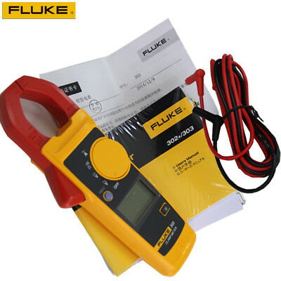 Genuine New Backlight Version Fluke 302 Clamp Meter Acdc Handheld Multimeter