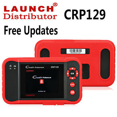 LAUNCH Creader CRP129 OBD2 Car Diagnostic Scanner Code Reader ABS SRS EPB Engine
