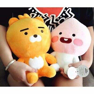 Kakao Friends Kakaotalk Tube Ryan Apeach Soft Plush Pp Cotton Stuffed Doll Toy