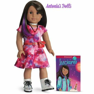 American Girl Luciana Vega Doll & Book 2018 GOTY Girl of the Year Astronaut