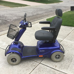 Like new invacare meteor mobility scooter big wheels