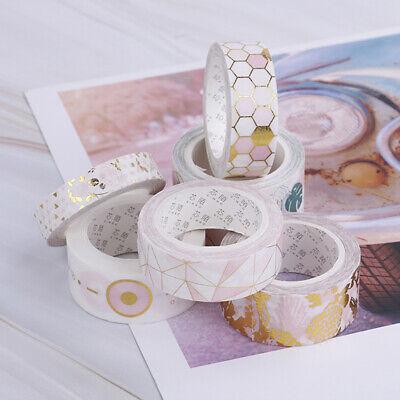 Fall Decorative Pink Foil Paper Washi Tape Japanese Stationery Kawaii Scrapbooki Japanese Washi Paper Tape