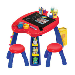 Crayola Creativity Play Station Desk and Stool