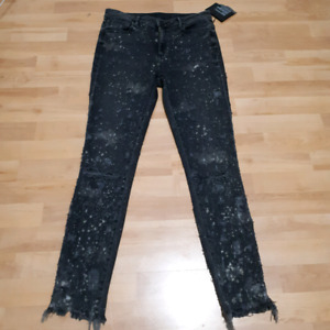 Alexander Wang Whiplash Destroyed Jeans Size 28