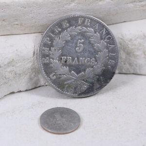 Vintage 900 Silver - 1812 FRANCE Emperor Napoleon I 5 Franc Coin