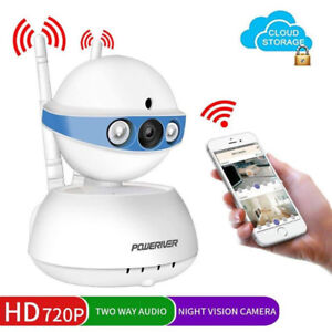 WiFi IP Indoor Security Camera with Motion Detection(NEW)
