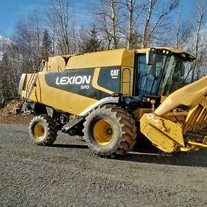 2009 Lexion 570 Walker Combine