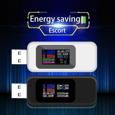 Lcd Usb Detector Voltmeter Ammeter Power Capacity Tester Voltage Current Meter