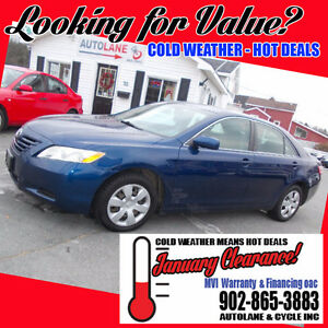 2007 Toyota Camry LE Only 158000km Toyota Reliability here!!!!
