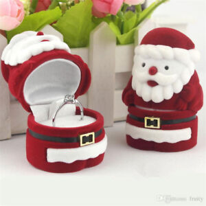 Santa clous ring box