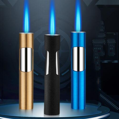 2020 New Gas Lighter Pen Jet Torch Lighter Portable Turbo Spray Gun Butane Metal