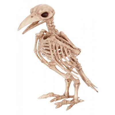 Große Raven Skelett Friedhof Crow Vogel Außen Halloween Dekoration Requisite