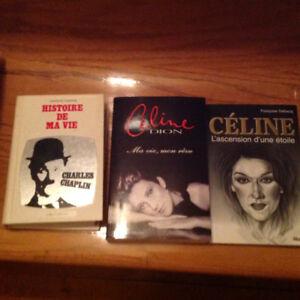 Livres biographiques