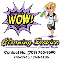 wow cleaning services