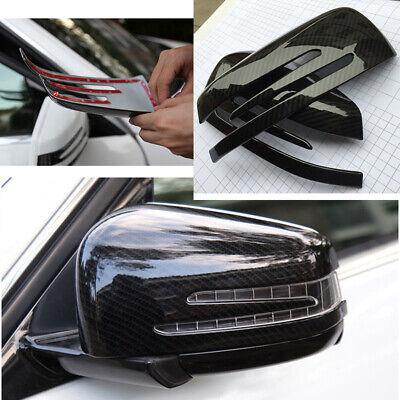 Außenspiegelkappen Kohlefaser Muster Kunststoff Aufkleber für Benz A/C/E/G Class