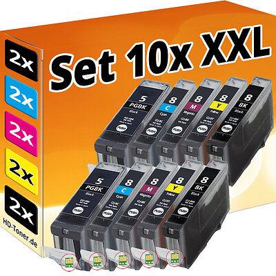 10 XL PATRONEN für CANON PIXMA IP3300 IP3500 IP4200 IP5200R IP4300 IP4500 MP970 online kaufen
