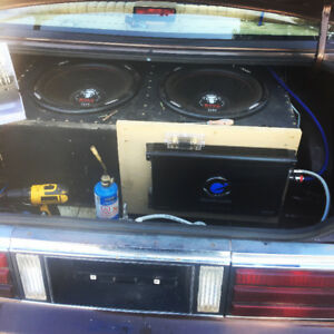 15 inch subwoofers amp