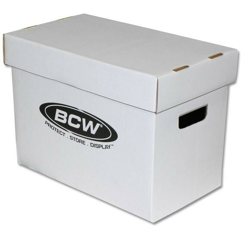 BCW Magazine Comic Storage Archive Box Double Thickness Doc Quality Cardboard