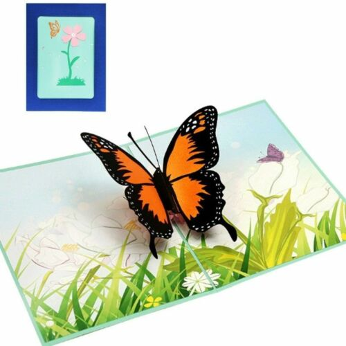 3D Stereo Greeting Card Colorful Galloping Horse Business Invitations Card AT